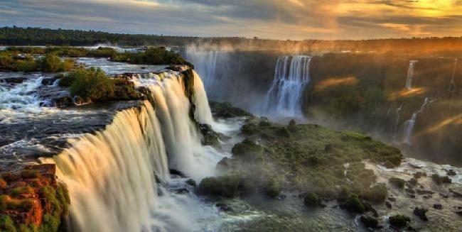 Cataratas del Iguazú flexible!!